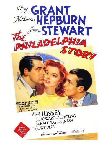 The Philadelphia Story, 1940 Art Print
