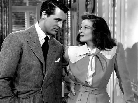 The Philadelphia Story, Cary Grant, Katharine Hepburn, 1940 Photo