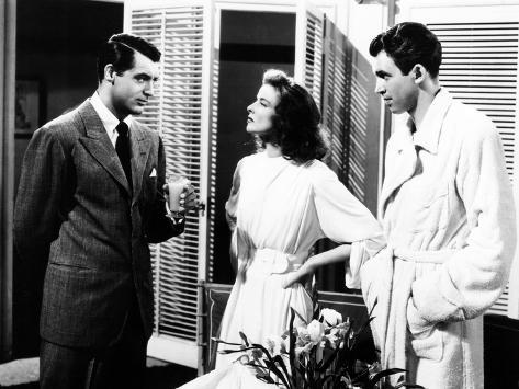 The Philadelphia Story, Cary Grant, Katharine Hepburn, James Stewart, 1940 写真