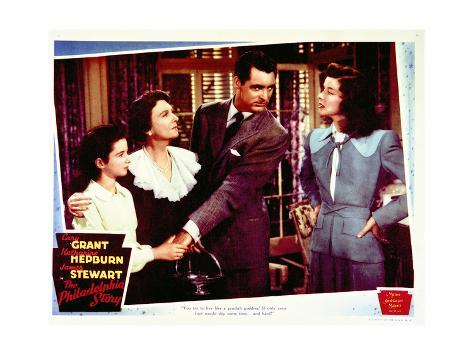 The Philadelphia Story - Lobby Card Reproduction Stampa artistica