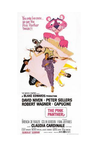 The Pink Panther Art Print