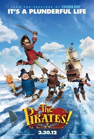 The Pirates! Band of Misfits Masterprint