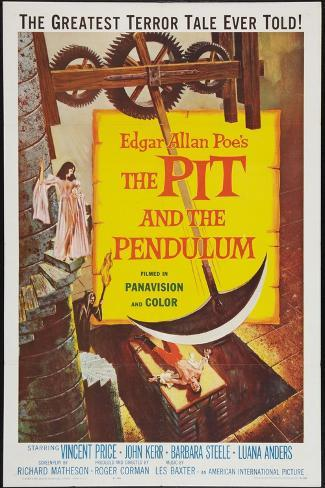 The Pit and the Pendulum, 1961 Konstprint