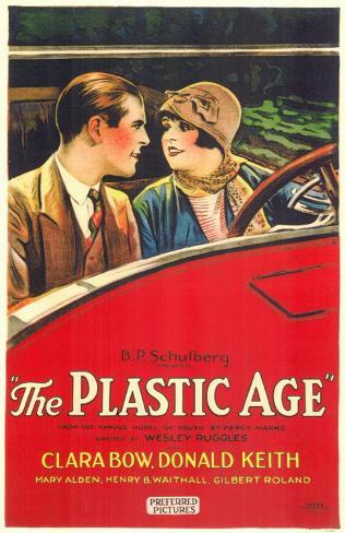 The Plastic Age Masterprint