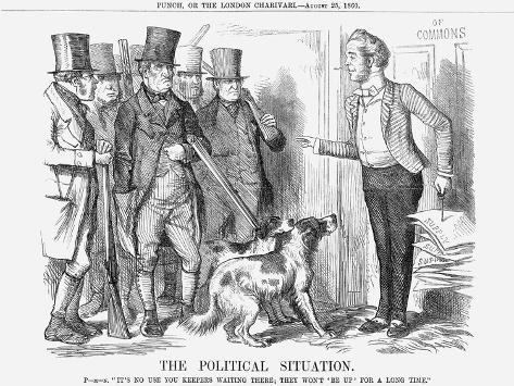 The Political Situation, 1860 Giclee Print