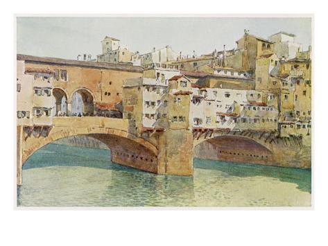 The Ponte Vecchio Giclee Print