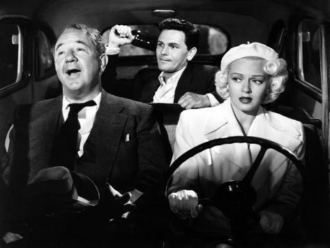 The Postman Always Rings Twice, Cecil Kellaway, John Garfield, Lana Turner, 1946 Photo