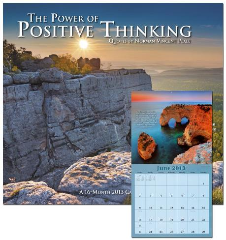 The Power of Positive Thinking - 2013 Wall Calendar Calendars