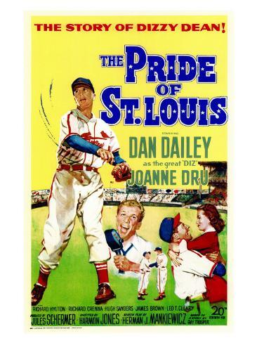 The Pride of St. Louis, 1952 Art Print