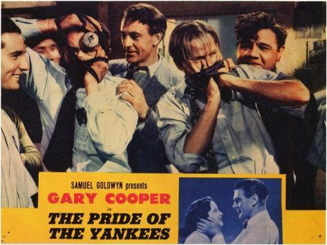 The Pride of the Yankees, 1942 Art Print