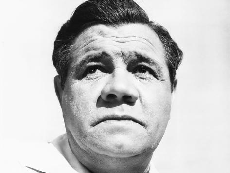 The Pride of the Yankees, Babe Ruth, 1942 Photo