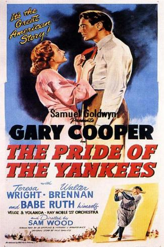 The Pride of the Yankees Masterprint