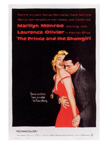 The Prince and the Showgirl, 1957 Art Print