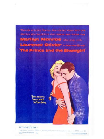 The Prince and the Showgirl, 1957 Stampa artistica