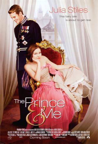 The Prince & Me Double-sided poster