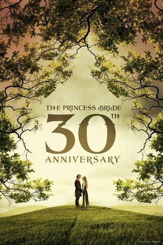 The Princess Bride 30th Anniversary Poster