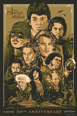 The Princess Bride 30th Anniversary Pôster