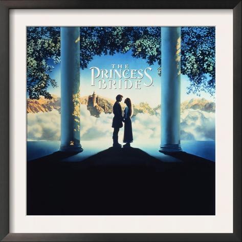 The Princess Bride Video Cover Framed Art Print