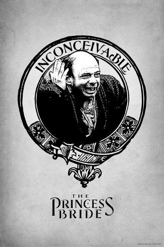 The Princess Bride - Vizzini Konstprint
