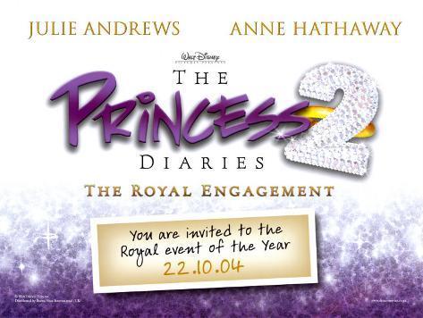 The Princess Diaries 2 Poster