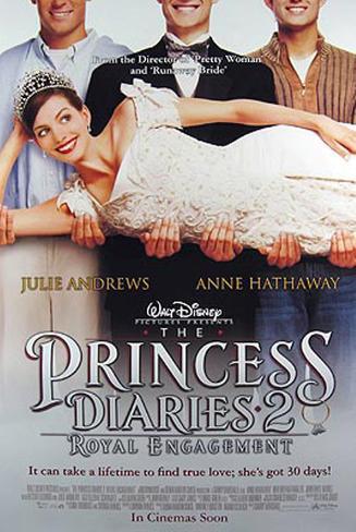 The Princess Diaries 2 Original Poster