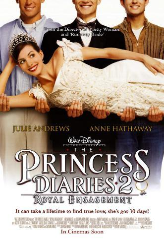 The Princess Diaries 2 Double-sided poster