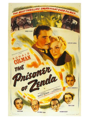 The Prisoner of Zenda, 1937 Art Print