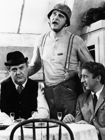 The Producers, from Left, Zero Mostel, Kenneth Mars, Gene Wilder, 1968 Photo