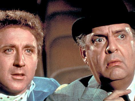 The Producers, Gene Wilder, Zero Mostel, 1968 Photo
