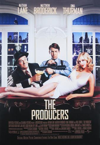 The Producers Double-sided poster