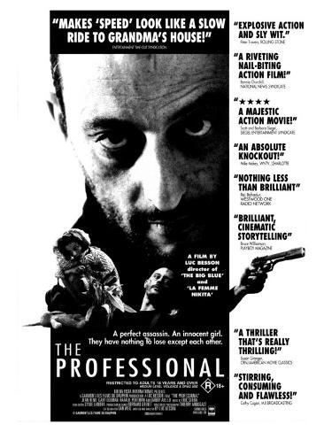 The Professional, 1994 Stretched Canvas Print