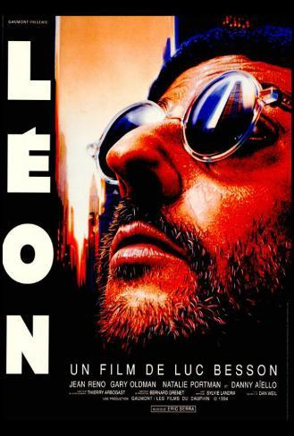The Professional - French Style Poster