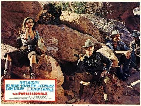 The Professionals, 1966 Art Print