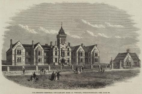 The Prudhoe Memorial Convalescent Home at Whitley, Northumberland Giclee Print