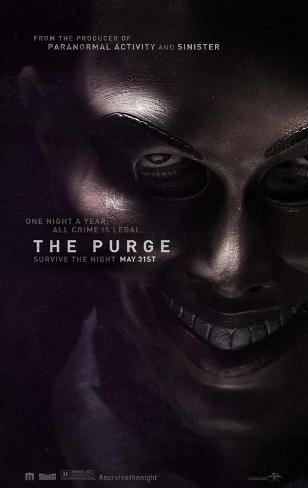 The Purge Movie Poster Double-sided poster