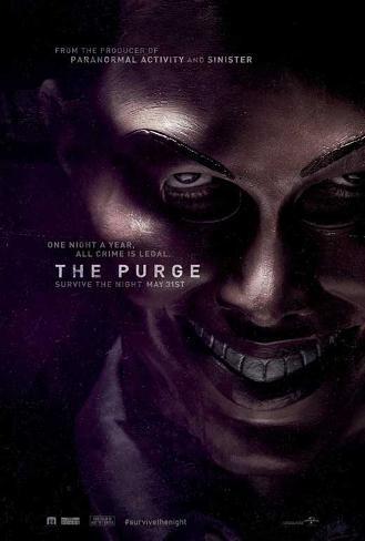 The Purge Movie Poster Masterprint