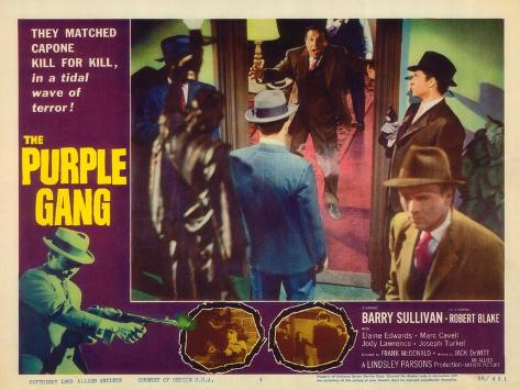 The Purple Gang, 1959 Art Print