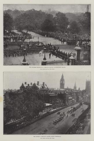 The Queen's Jubilee Giclee Print