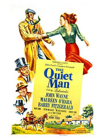 The Quiet Man, 1952 Impressão artística