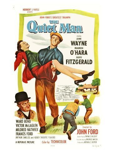 The Quiet Man, 1952 Konstprint