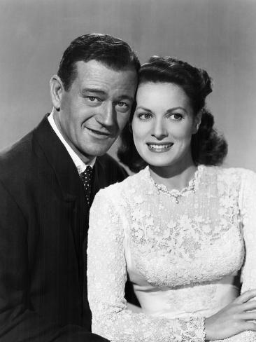 The Quiet Man, John Wayne, Maureen O'Hara, 1952 Fotografía