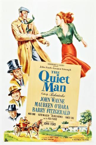 The Quiet Man Art Print