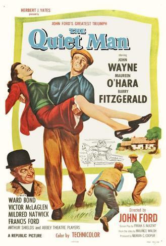 The Quiet Man Poster