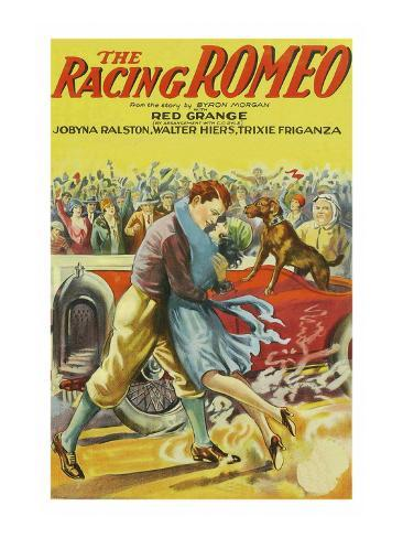 The Racing Romeo Art Print