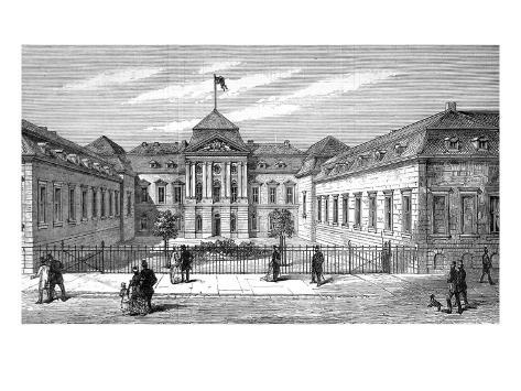 The Radziwill Palace, Berlin, 1878 Giclee Print