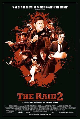 The Raid 2 Masterprint