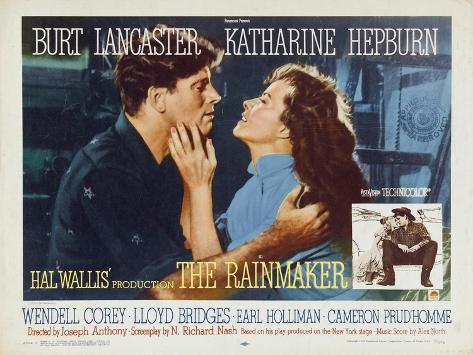 The Rainmaker, 1956 Art Print