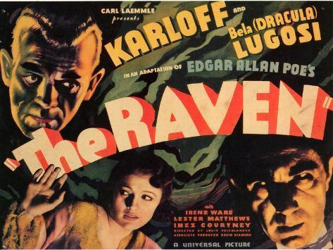 The Raven, 1935 Art Print