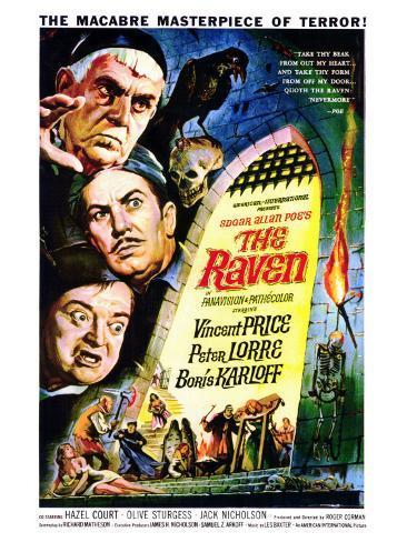 The Raven Premium Giclee Print