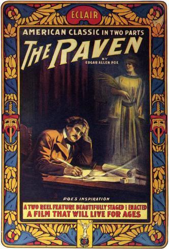 The Raven Impressão original